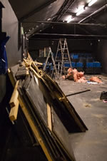 Dismantling of the Greenwich Playhouse