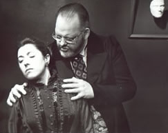 Hedda Gabler performed by the Greenwich Theatre Company at the Greenwich Playhouse