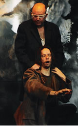 King Lear performed at the Greenwich Playhouse by the Galleon Theatre Company